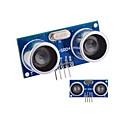 abordables Fundas para Teléfono & Protectores de Pantalla-Sensor ultrasónico HC-SR04 Distancia Módulo de Medición - Azul + Silver