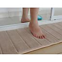 baratos Tapetes-1pç Modern Microfibra de Poliéster Sólido Banheiro / Retângular