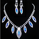 cheap Jewelry Sets-Women's Rhinestone Jewelry Set - Others Red, Blue
