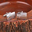 povoljno Pokloni za vjenčanje-Personalizirana dar Mandzsettagombok Metal Uniseks Posao Glam Moderna Dar