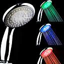 Χαμηλού Κόστους Αξεσουάρ για Βρύσες-Θερμοκρασία 3-Color Sensitive LED αλλάζει χρώμα Χέρι ντους