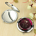 ieftine Noutatile personalizate-Personalizat Lover Gift model Chrome Compact Mirror