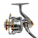 cheap Fishing Reels-Fishing Reel Spinning Reel 4.7:1 Gear Ratio+12 Ball Bearings Hand Orientation Exchangable Left-handed Right-handed Sea Fishing Bait