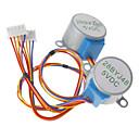 billige Motor & deler-DC 5V 28ybj-48 stepper motor for (for arduino) ((fungerer med offisiell (for Arduino) boards / 2 stk)