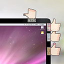 olcso Iroda & Iskola felszerelés-kreatív szép hüvelykujj alakú öntapadós jegyzet