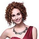 hesapli Sentetik Kapsız Peruklar-Sentetik Peruklar Klasik Sentetik Saç Peruk Kadın's