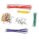 cheap Connectors & Terminals-140 Pieces Jumper Wires with Different Colors