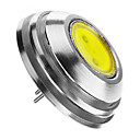 baratos Acessórios Masculinos-160 lm G4 Lâmpada Redonda LED 1 leds COB Decorativa Branco Quente Branco Frio DC 12V