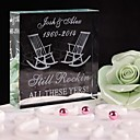 cheap Party Headpieces-Cake Topper Classic Theme Crystal Wedding Anniversary Birthday Bridal Shower Quinceañera & Sweet Sixteen Baby Shower with Gift Box