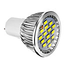 olcso LED izzók-400 lm E14 GU10 GU5.3(MR16) E26/E27 LED szpotlámpák 15 led SMD 5730 Tompítható Meleg fehér Hideg fehér AC 220-240V