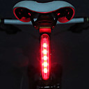 preiswerte Radlichter-Fahrradrücklicht / Sicherheitsleuchten / Rückleuchten LED Radlichter Radsport LED-Lampe AAA Batterie Radsport - MOON / IPX-4