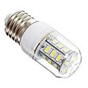 olcso LED Grow Lights-1db 3 W 270 lm E14 / E26 / E27 LED kukorica izzók 24 LED gyöngyök SMD 5730 Meleg fehér / Hideg fehér 220-240 V