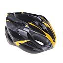 povoljno Košara za cvijeće-Odrasli Bike kaciga 20 Ventilacijski otvori Otporan na udarce Carbon Fiber, Carbon Fiber + EPS Sportski biciklom na cesti / Rekreativna vožnja biciklom / Biciklizam / Bicikl - Bijela / Crvena / Plava