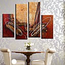 cheap Decorative Objects-Modern/Contemporary Canvas Rectangular Indoor,AA Wall Clock