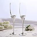 preiswerte Sekt- & Champagnergläser-Material / Bleifreies Glas Toasten Flöten Geschenkbox Klassisch / Urlaub Ganzjährig