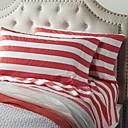 cheap Sheet Sets & Pillowcases-Sheet Set - Cotton Yarn Dyed Stripe 1pc Flat Sheet 1pc Fitted Sheet