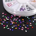 cheap Mac Accessories-1 pcs Nail Jewelry Fruit / Flower / Abstract Lovely Daily Nail Art Design / Acrylic / Cartoon / Punk