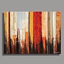 tanie Obrazy: abstrakcja-Hang-Malowane obraz olejny Ręcznie malowane - Streszczenie Comtemporary Brezentowy