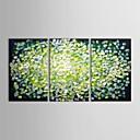 preiswerte Abstrakte Gemälde-Handgemalte Abstrakt Horizontal Panorama Segeltuch Hang-Ölgemälde Haus Dekoration Drei Paneele