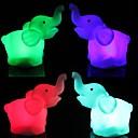 billige Originale lamper-LED Night Light Vanntett Batteri PVC 1 Lampe Batterier Inkludert 8.0*5.0*4.0cm