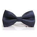 cheap Men's Ties & Bow Ties-Men's Party / Work / Basic Polyester Bow Tie