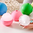 baratos Acessórios para gelo-caixa de gelo de silicone com forma moderna de renda com forma de bola (cor aleatória)