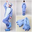 cheap Kigurumi Pajamas-Adults' Kigurumi Pajamas with Slippers Donkey Onesie Pajamas Coral fleece Cosplay For Men and Women Animal Sleepwear Cartoon Festival / Holiday Costumes