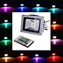 ieftine Ornamente de Nuntă-4W 450-700 lm Proiectoare LED 1 led-uri LED Integrat Telecomandă RGB AC 85-265V
