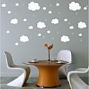 preiswerte Wand-Sticker-Dekorative Wand Sticker - Flugzeug-Wand Sticker Abstrakt Stillleben Formen Cartoon Design Fantasie Jungen Zimmer Mädchen Zimmer