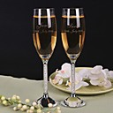 cheap Women's Sandals-Crystal Toasting Flutes Gift Box Classic Theme All Seasons