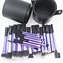 preiswerte Make-up-Pinsel-Sets-22 Stück Makeup Bürsten Professional Bürsten-Satz- Künstliches Haar / Kunstfaser Pinsel Große Pinsel / Klassisch / Mittelgroße Pinsel