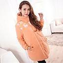 olcso Hajfonat-Divatos és modern Női Kabát-Egyszínű,Modern stílus