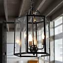 baratos Luzes Pingente-3-luz Luzes Pingente Luz Ambiente Acabamentos Pintados Metal Vidro Estilo Mini 110-120V / 220-240V Lâmpada Não Incluída / E12 / E14