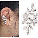 baratos Brincos-Mulheres Punhos da orelha senhoras Europeu Estilo bonito Brincos Jóias Prata / Dourado Para 1pç