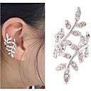baratos Colares-Mulheres Punhos da orelha - Europeu, Estilo bonito Prata / Dourado Para