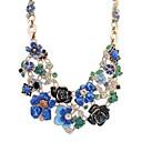 preiswerte Herren Turnschuhe-Halskette - Tropfen, Blume Europäisch Gelb, Rot, Blau Modische Halsketten Für Alltag