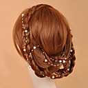 cheap Party Headpieces-Crystal / Imitation Pearl / Fabric Tiaras / Head Chain 1 Wedding / Special Occasion / Party / Evening Headpiece