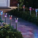 ieftine Lumini de cale-lumini de gradina 1 LED-uri LED Reîncărcabil / Decorativ 85-265 V 1 buc