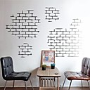 cheap Wall Stickers-Still Life Shapes Architecture Wall Stickers Plane Wall Stickers Decorative Wall Stickers, Vinyl Home Decoration Wall Decal Wall