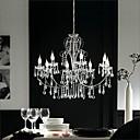 preiswerte LED Einbauleuchten-QINGMING® Kerzen-Stil Kronleuchter Deckenfluter Chrom Metall Kristall 110-120V / 220-240V Glühbirne nicht inklusive / E12 / E14