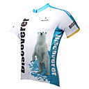 baratos Camisas & Shorts/Calças de Ciclismo-ILPALADINO Homens Manga Curta Camisa para Ciclismo Desenho Animado / Animal Moto Camisa / Roupas Para Esporte, Secagem Rápida, Resistente