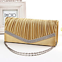 cheap Clutches & Evening Bags-Women's Bags Silk Evening Bag Crystals Blue / Pink / Golden