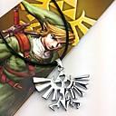 povoljno Anime cosplay dodaci-Jewelry Inspirirana The Legend of Zelda Cosplay Anime / Video Igre Cosplay Pribor Ogrlice Legura Muškarci Halloween kostime