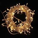 billige LED-stringlys-z®zdm 10m 9,6w flash 100-leders varm hvit / kul hvit lys stripe lyslampe (eu-kontakt, vekselstrøm 220V)