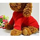 baratos Roupas para Cães-Cachorro Camiseta Moletom Roupas para Cães Sólido Preto Vermelho Azul Rosa claro Algodão Ocasiões Especiais Para animais de estimação