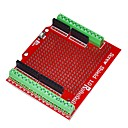 preiswerte Hauptplatine-robotale proto Schraube Abschirmung für Arduino montiert - red