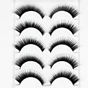 cheap Keychains-Eyelash Extensions False Eyelashes 10 pcs Volumized Curly Fiber Daily Thick Natural Long - Makeup Daily Makeup Party Makeup Cosmetic Grooming Supplies
