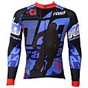 povoljno Ukrašavanje noktiju-ILPALADINO Muškarci Dugih rukava Biciklistička majica Crtani film Bicikl Quick dry, Ultraviolet Resistant, Prozračnost
