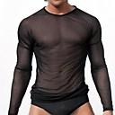 billige Zentai-Herre Sexy Underskjorte Underbukse Ensfarget
