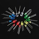 cheap Modules-100PCS Light Emitting Diode LED3mm 5mm Red Green Yellow blue white
